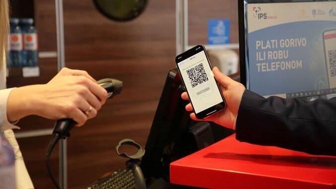 IPS metod plaćanja mobilnim telefonom na svim NIS Petrol i Gazprom pumpama