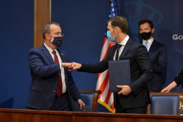 Potpisivanje sporazuma za početak aktivnosti DFC-a u Srbiji