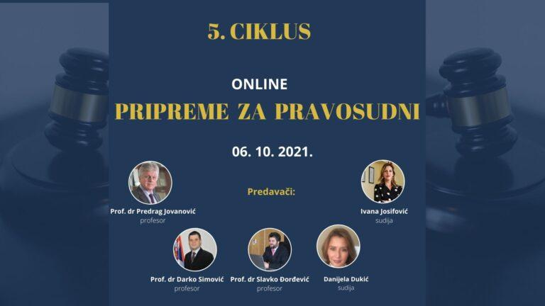 Pripreme za Pravosudni Kec grupe (06. 10. 2021.)